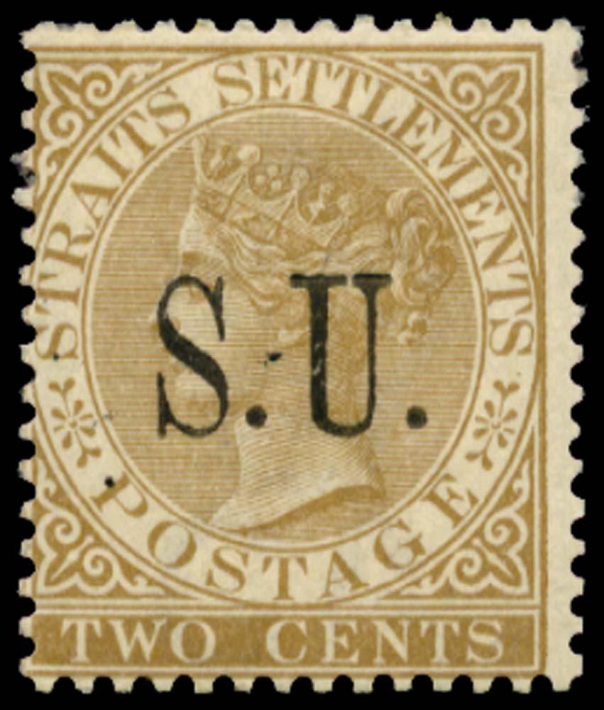 MALAYA - S. UJONG 1882  SG12 Mint