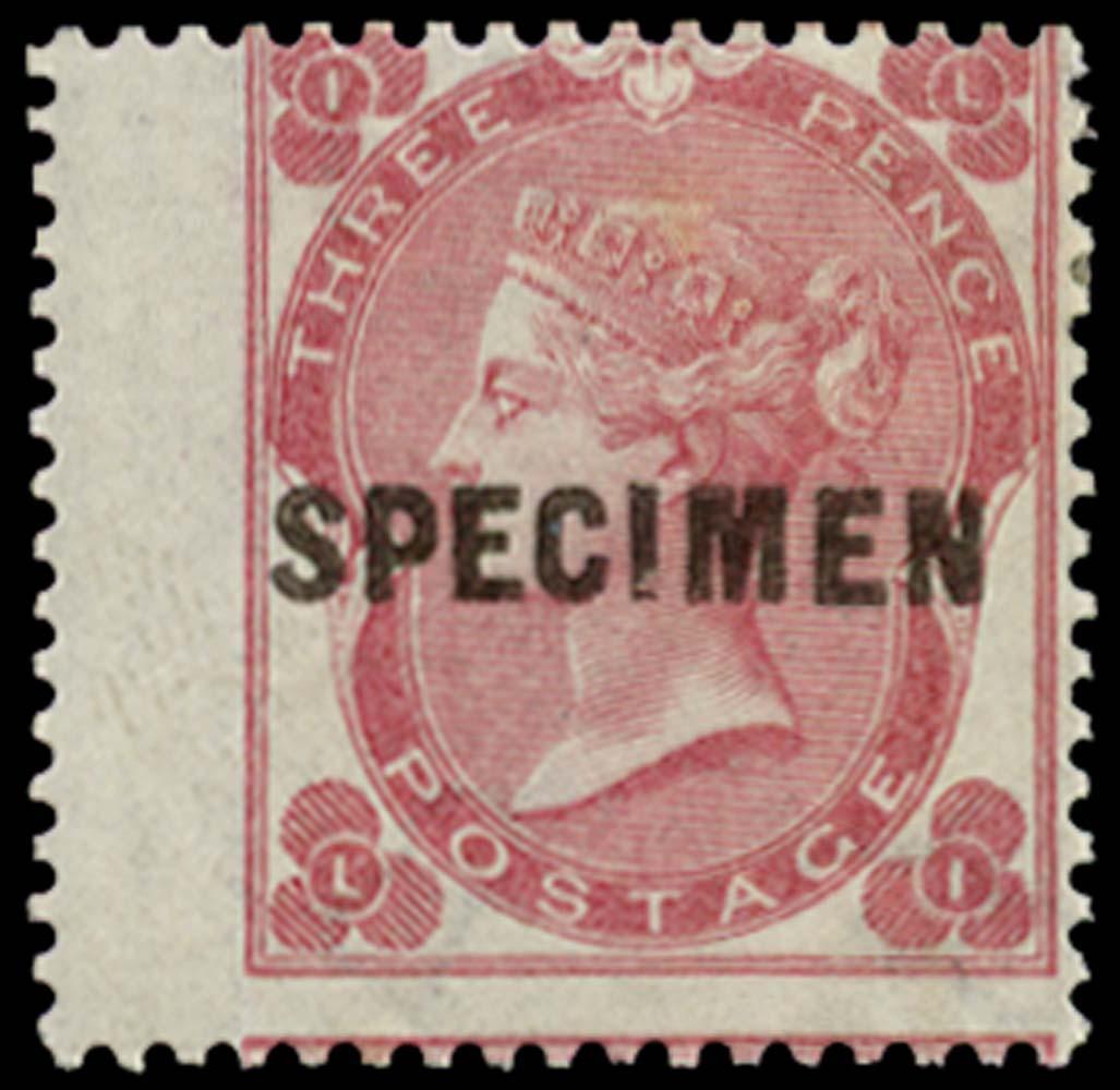 GB 1862  SG75s Pl.2 Specimen