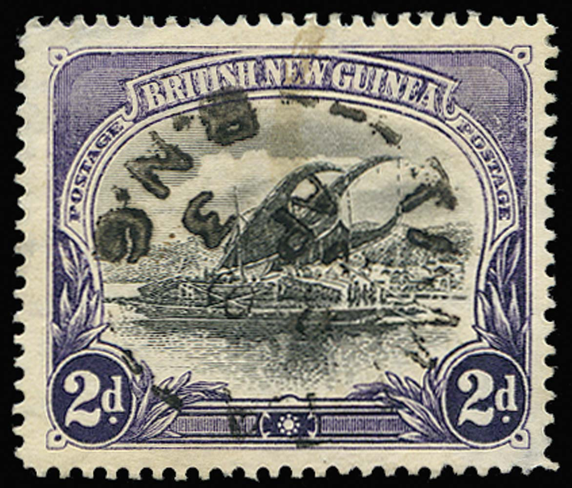 PAPUA 1901  SG3 Cancel