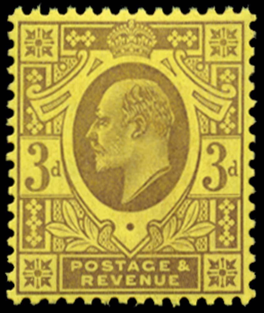GB 1906  SG232c Mint Unmounted o.g.