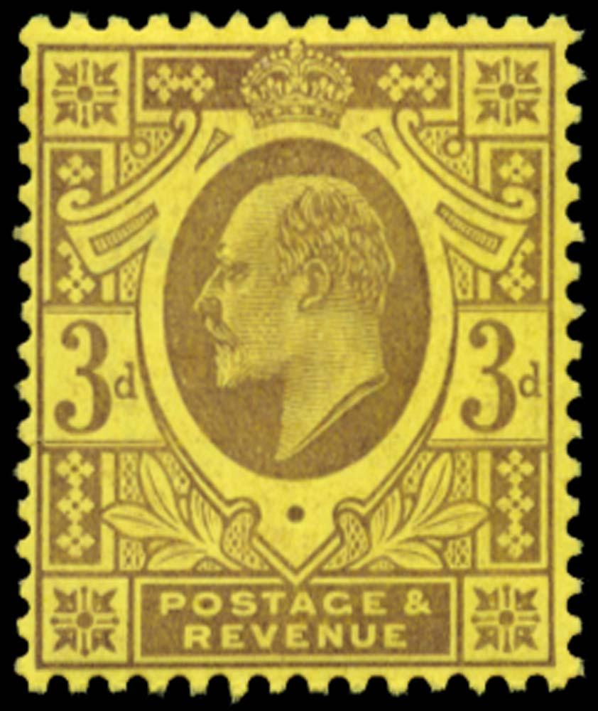 GB 1906  SG232c Mint o.g.