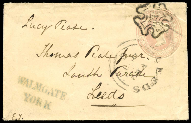 GB 1841  SG. Cover - York to Leeds
