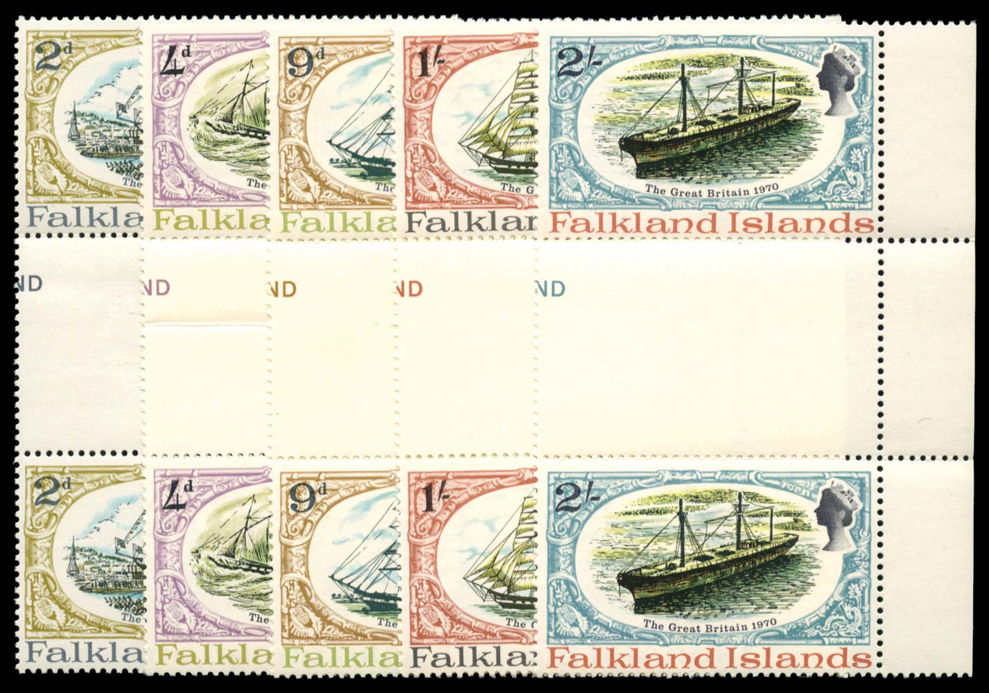 FALKLAND ISLANDS 1970  SG258/62 Mint