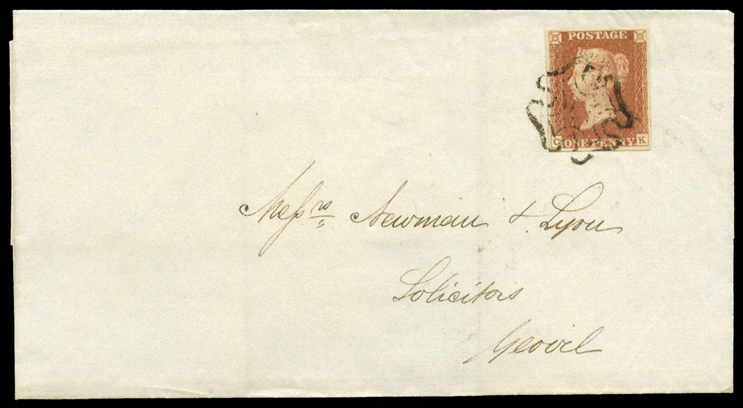 GB 1841  SG7 Pl.5 Cover