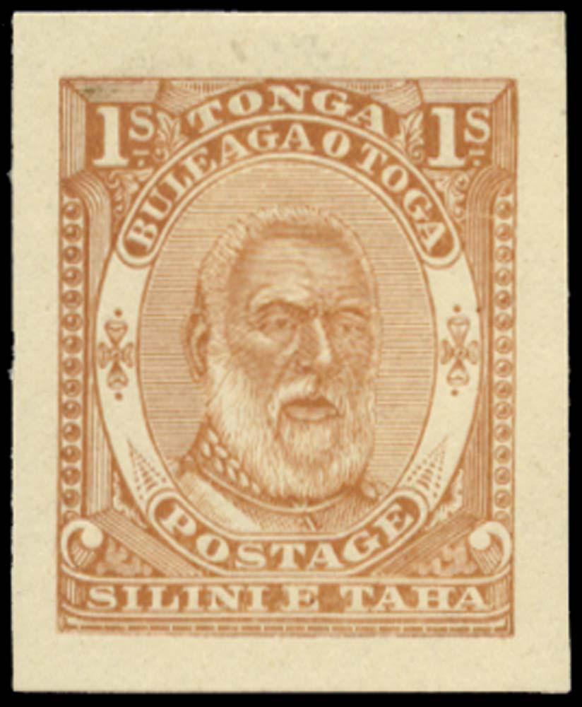 TONGA 1892  SG14 Proof