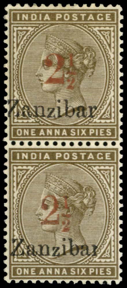 ZANZIBAR 1896  SG29l/30l Mint