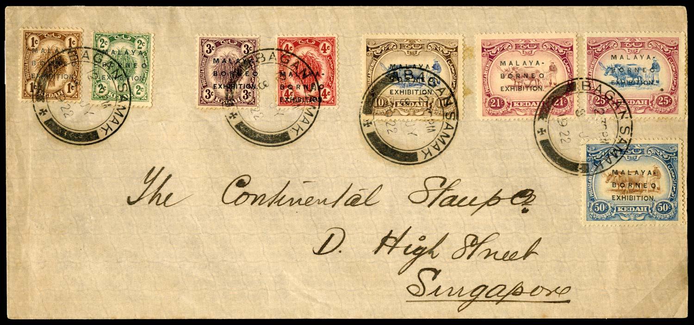 MALAYA - KEDAH 1922  SG41/48 Cover