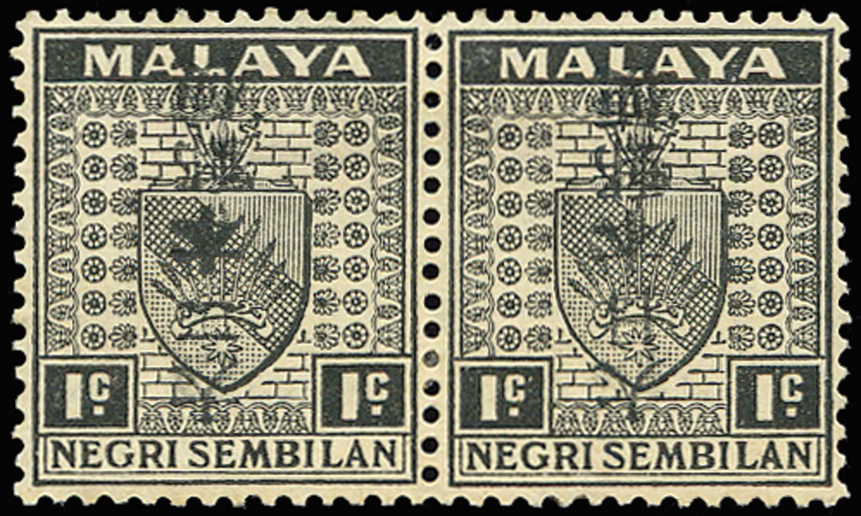MALAYA JAP OCC 1942  SGJ266a/ba Mint