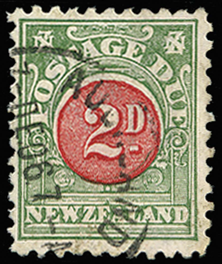 NEW ZEALAND 1904  SGD20 Postage Due