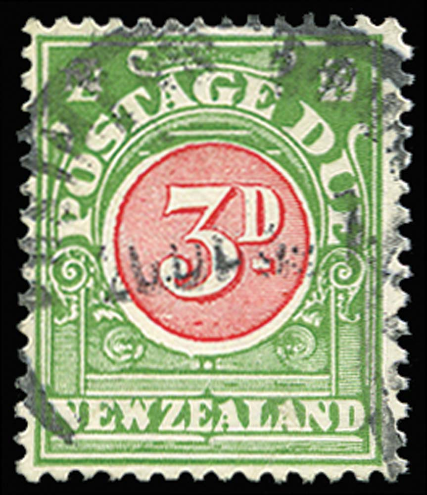 NEW ZEALAND 1925  SGD36 Postage Due