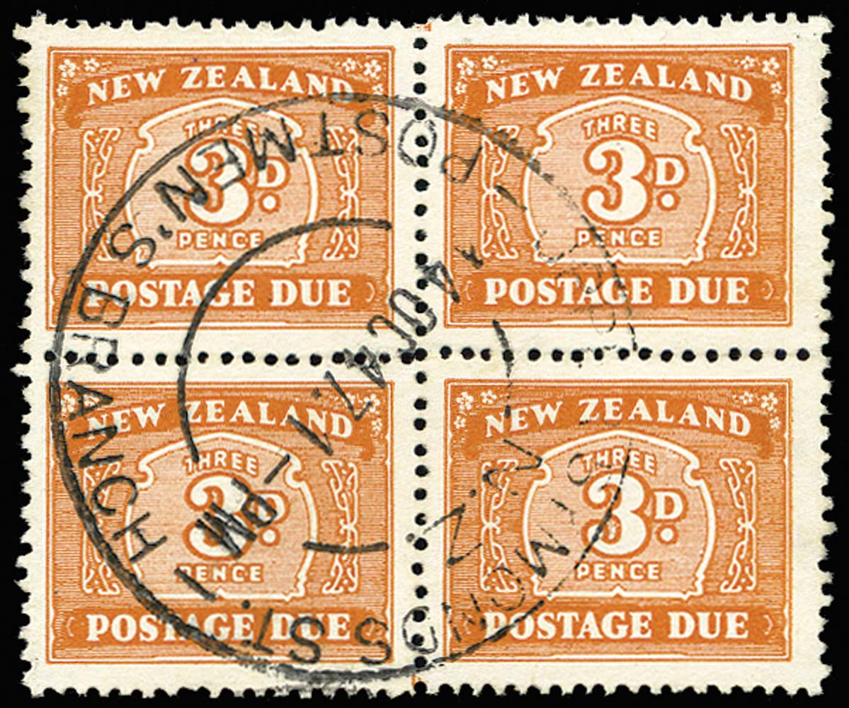 NEW ZEALAND 1939  SGD47a Postage Due