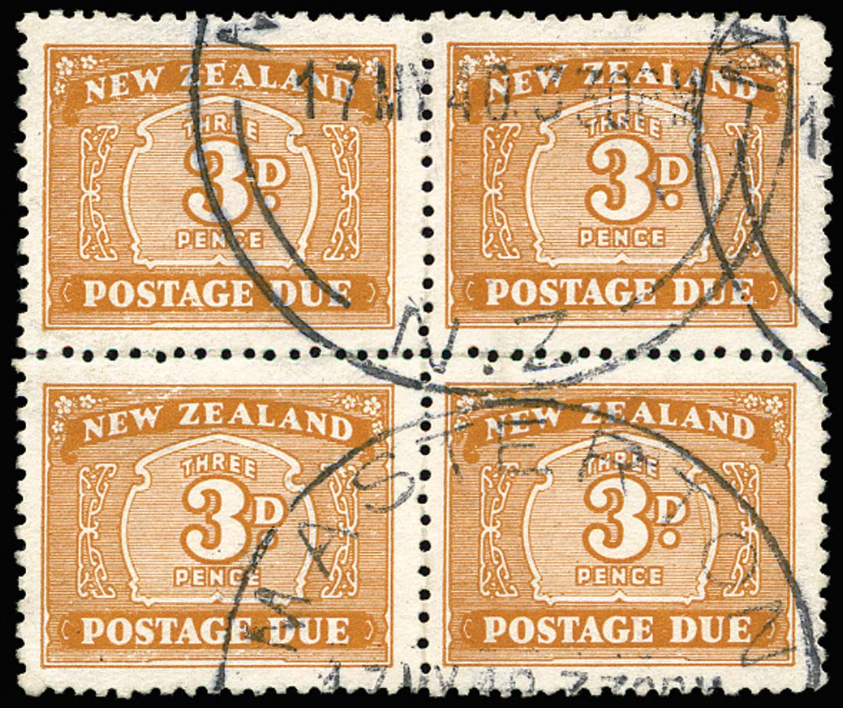 NEW ZEALAND 1939  SGD44 Postage Due