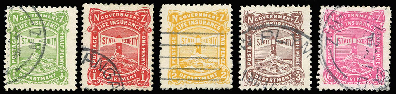 NEW ZEALAND 1913  SGL32/6 Used