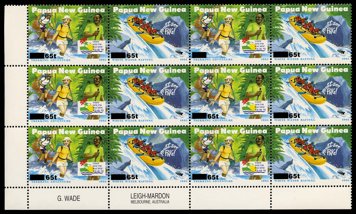 PAPUA NEW GUINEA 1995  SG751a Mint