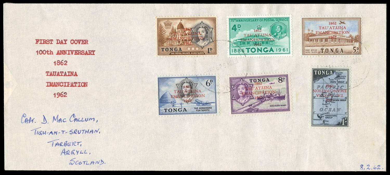 TONGA 1962  SG125a Mint
