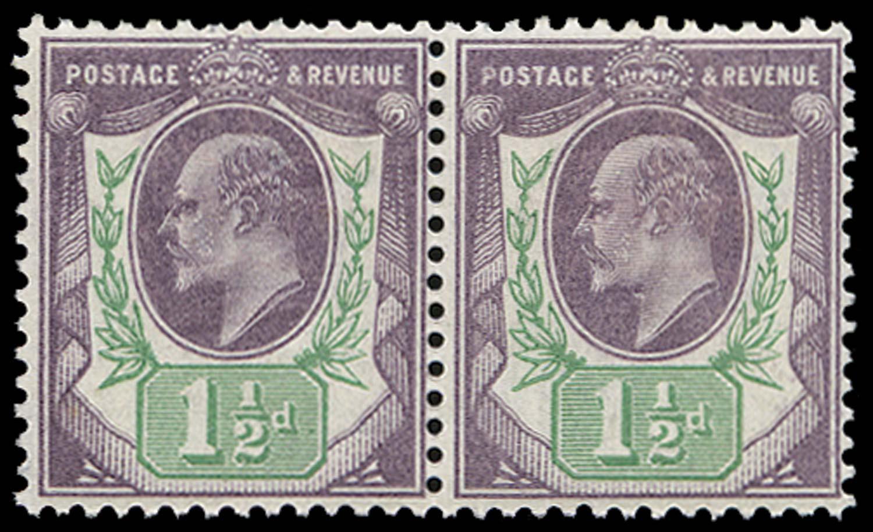 GB 1902  SG222a Mint