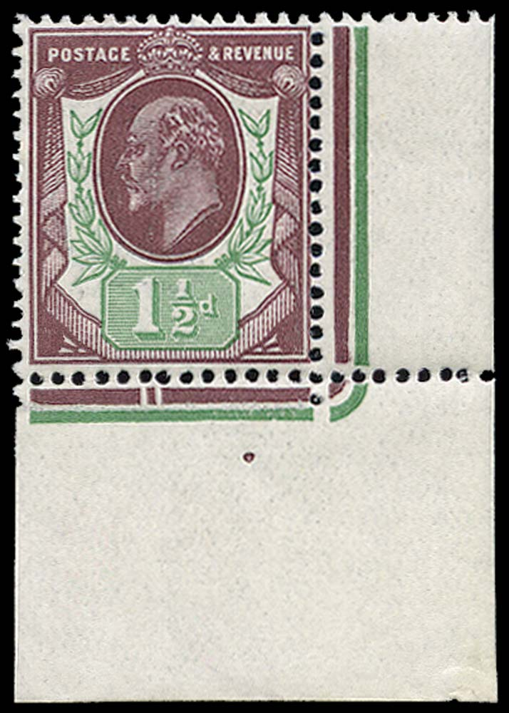 GB 1911  SG287 Mint unmounted