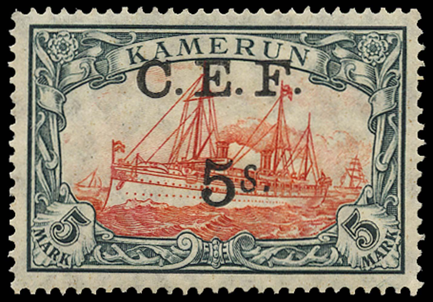 CAMEROON 1915  SGB13b Mint