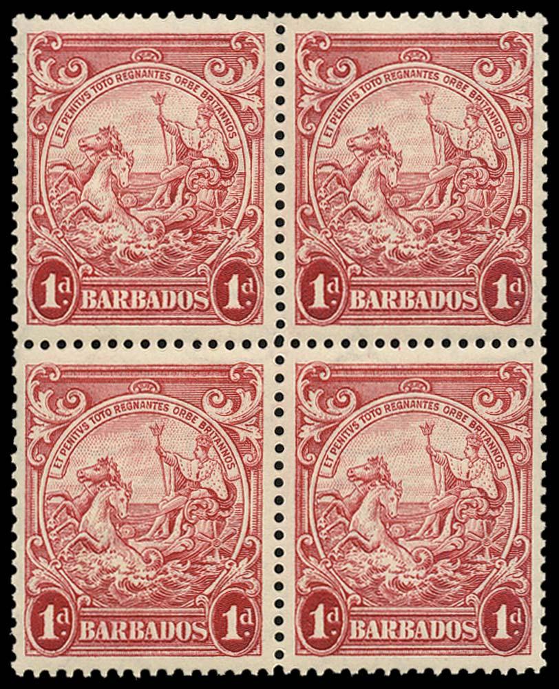 BARBADOS 1938  SG249 Mint
