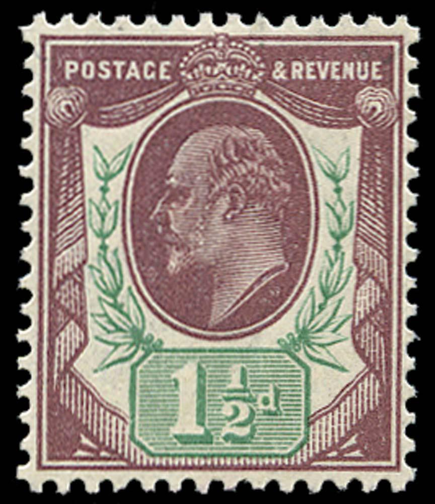 GB 1912  SG287var Mint unmounted