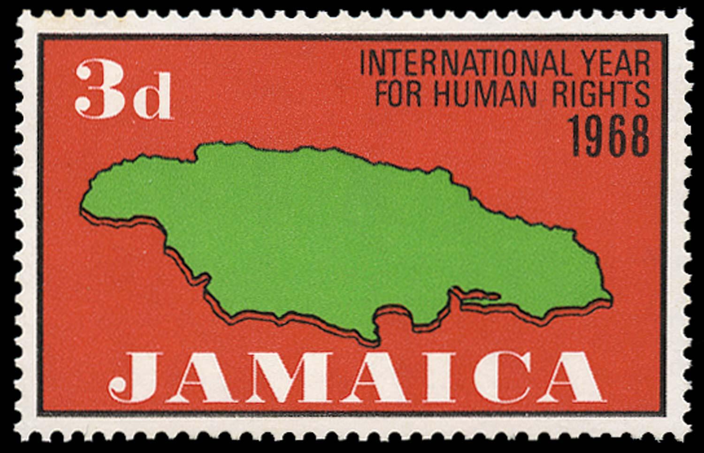 JAMAICA 1968  SG272a Mint
