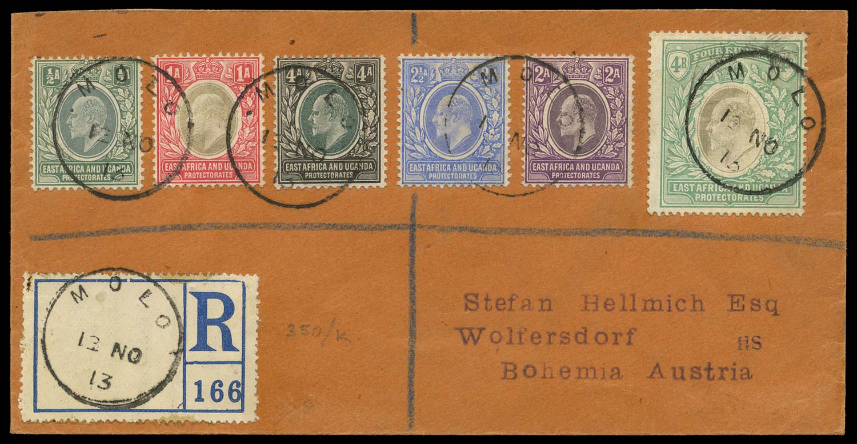 KUT 1913  SG17/20, 23, 29 Cover