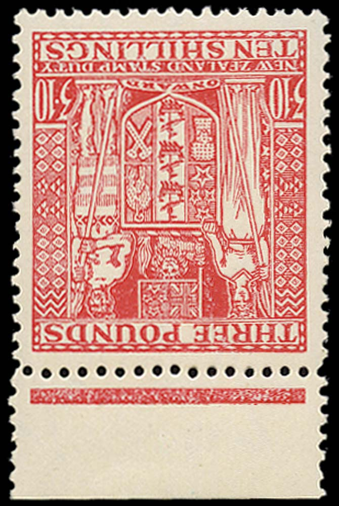 NEW ZEALAND 1940  SGF209w Postal Fiscal