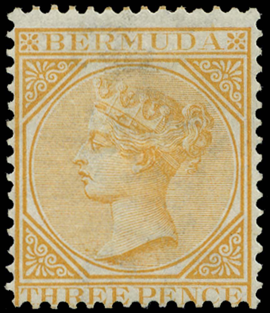 BERMUDA 1865  SG5 Mint