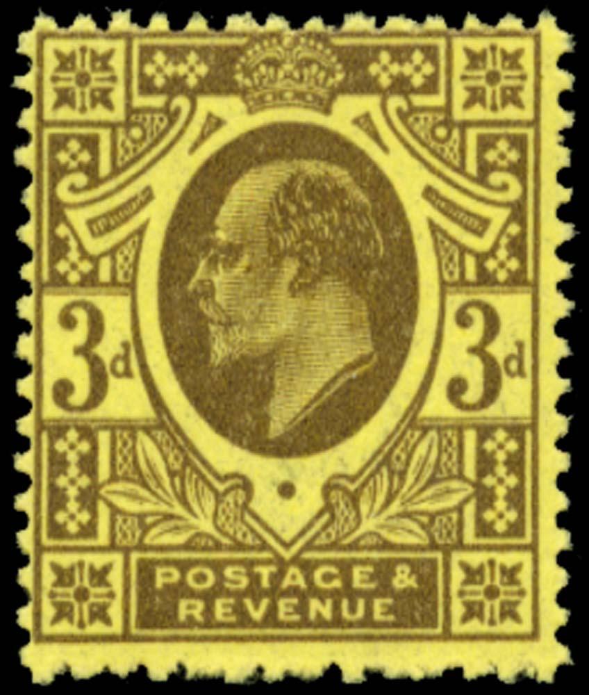 GB 1911  SG277var Mint Unmounted o.g.