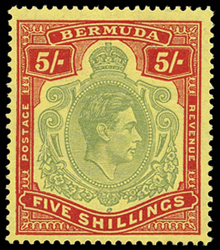 BERMUDA 1938  SG118d Mint