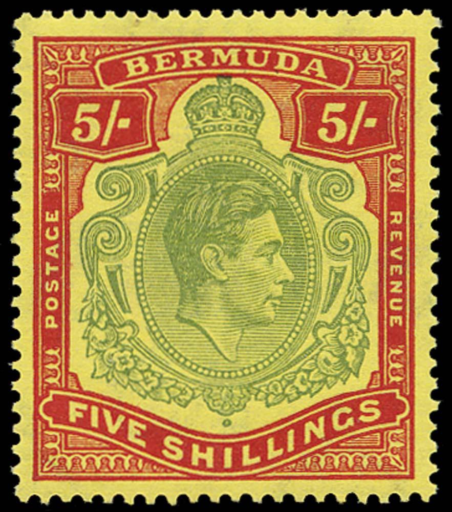 BERMUDA 1938  SG118e Mint