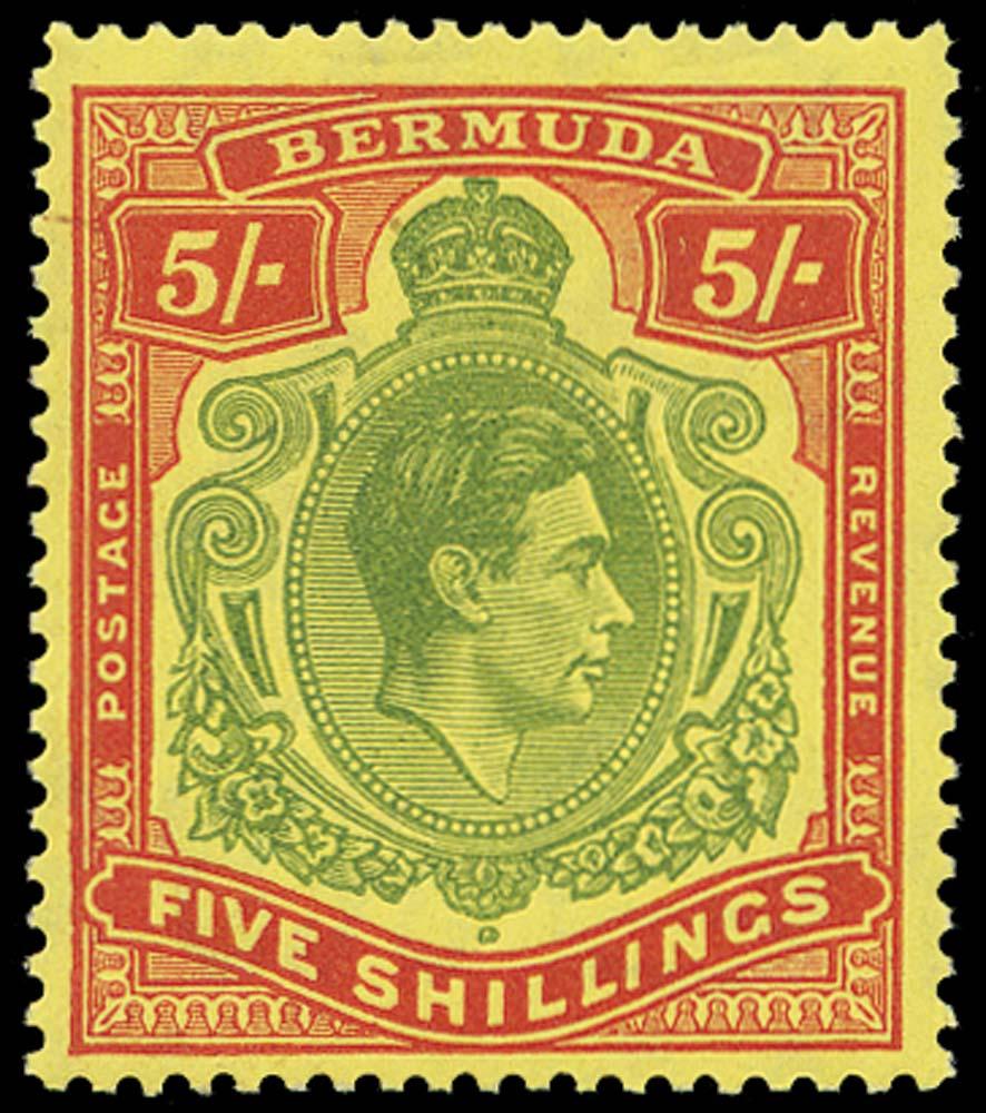 BERMUDA 1938  SG118f Mint