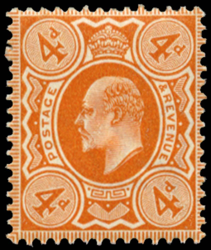 GB 1909  SG241 Mint Unused o.g.