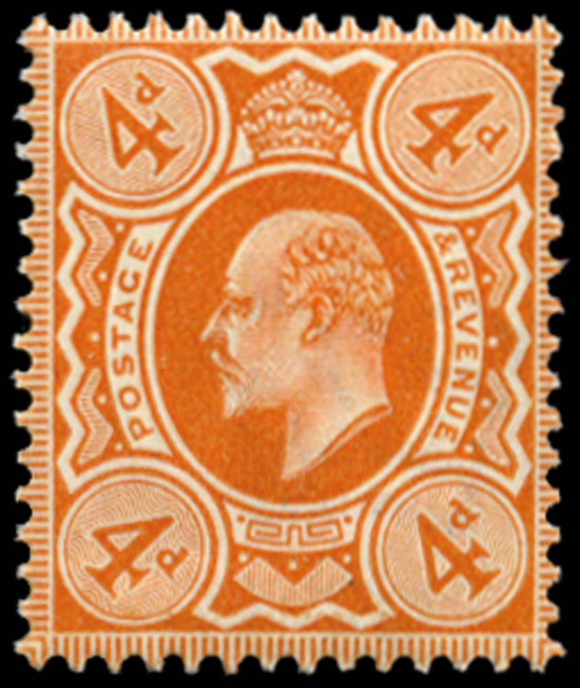 GB 1909  SG241 Mint Unused o.g.