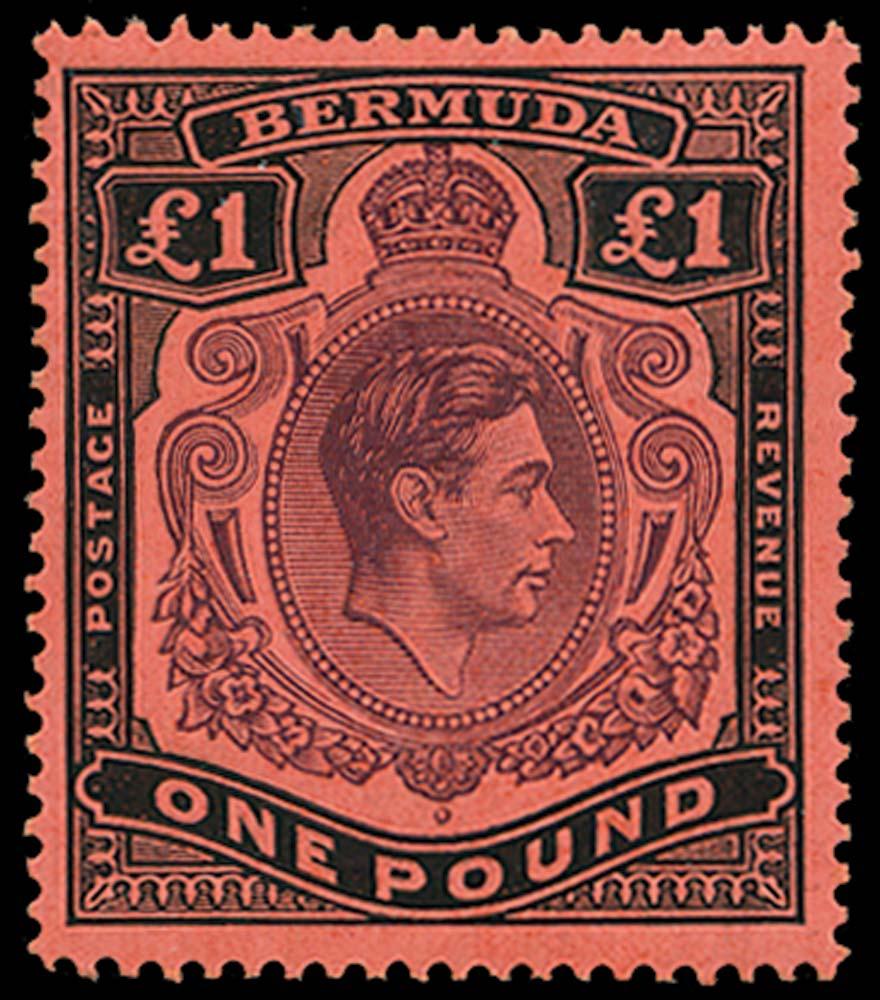 BERMUDA 1938  SG121c Mint