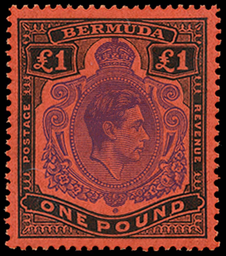 BERMUDA 1938  SG121d Mint