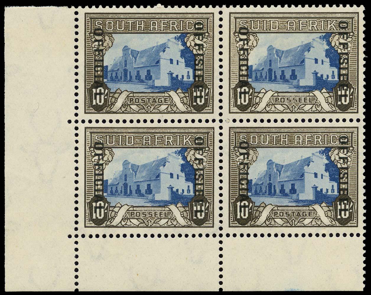 SOUTH AFRICA 1935  SGO29 Official