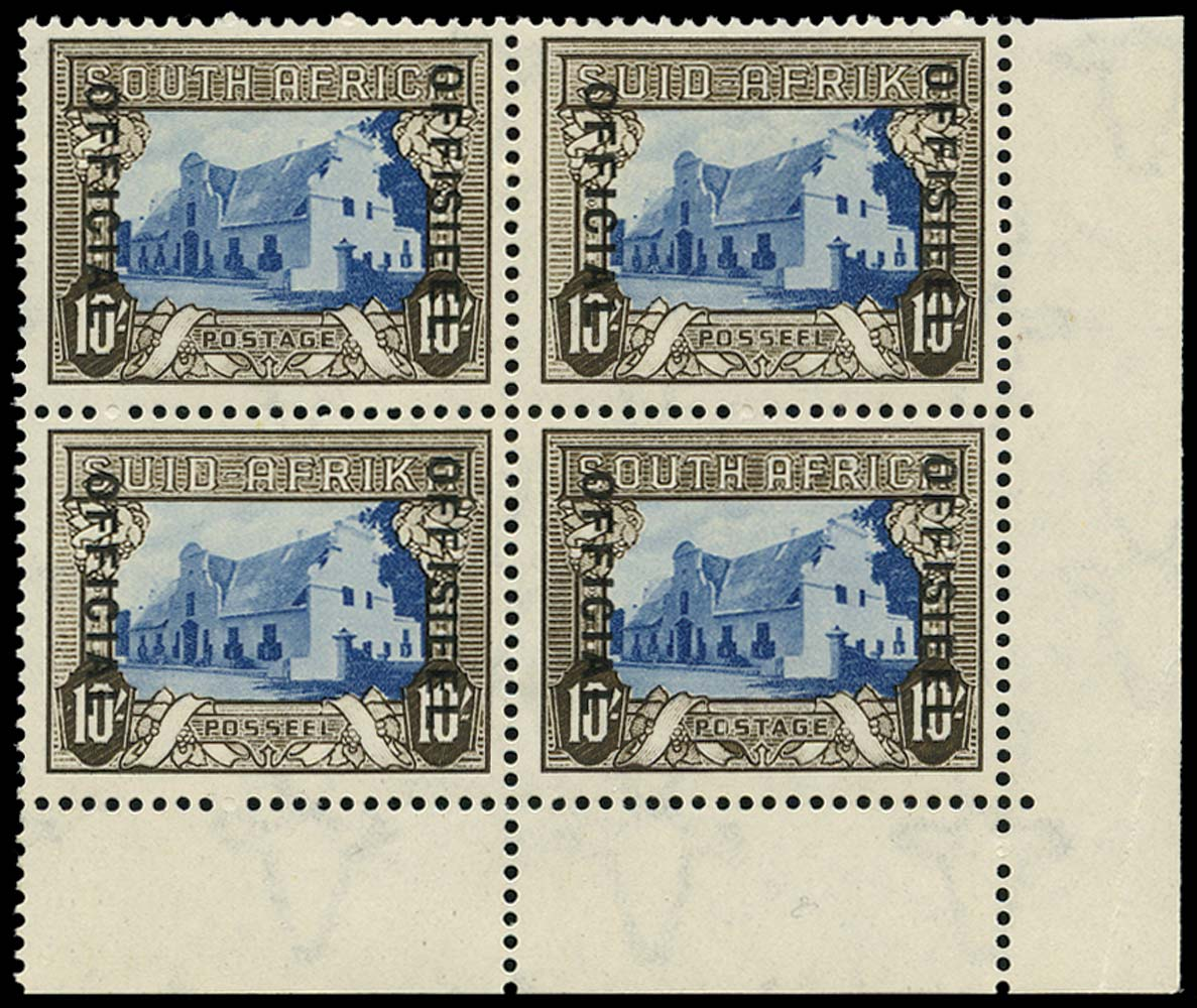 SOUTH AFRICA 1935  SGO29 Official