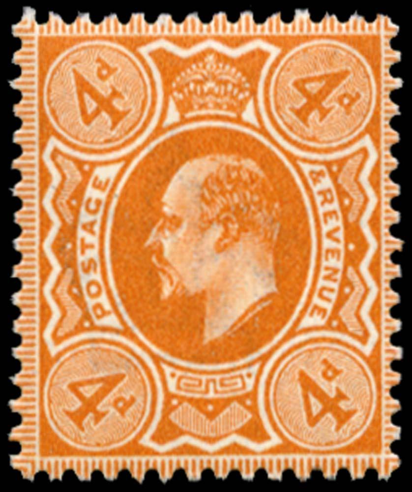 GB 1911  SG278 Mint unused o.g.