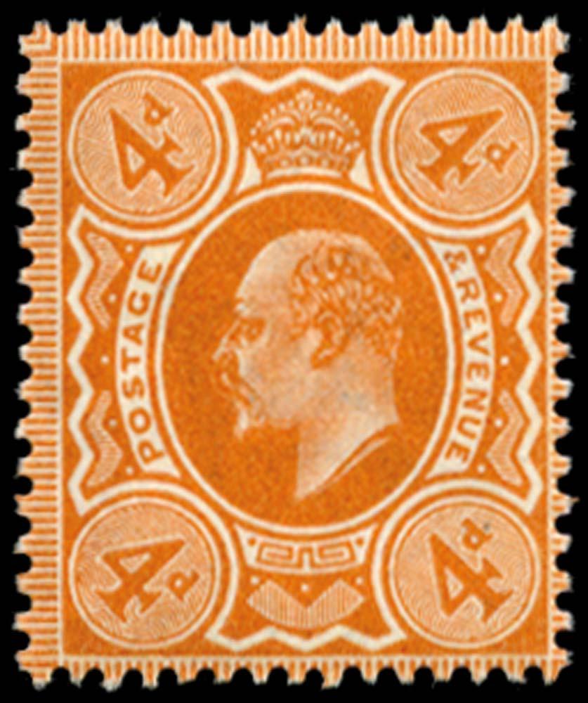GB 1911  SG286 Mint unused o.g.