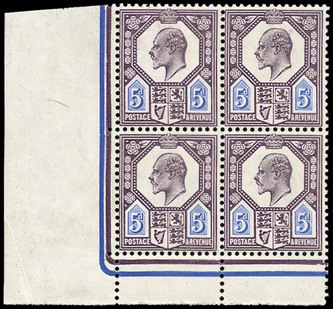 GB 1906  SG243a Mint unused o.g.
