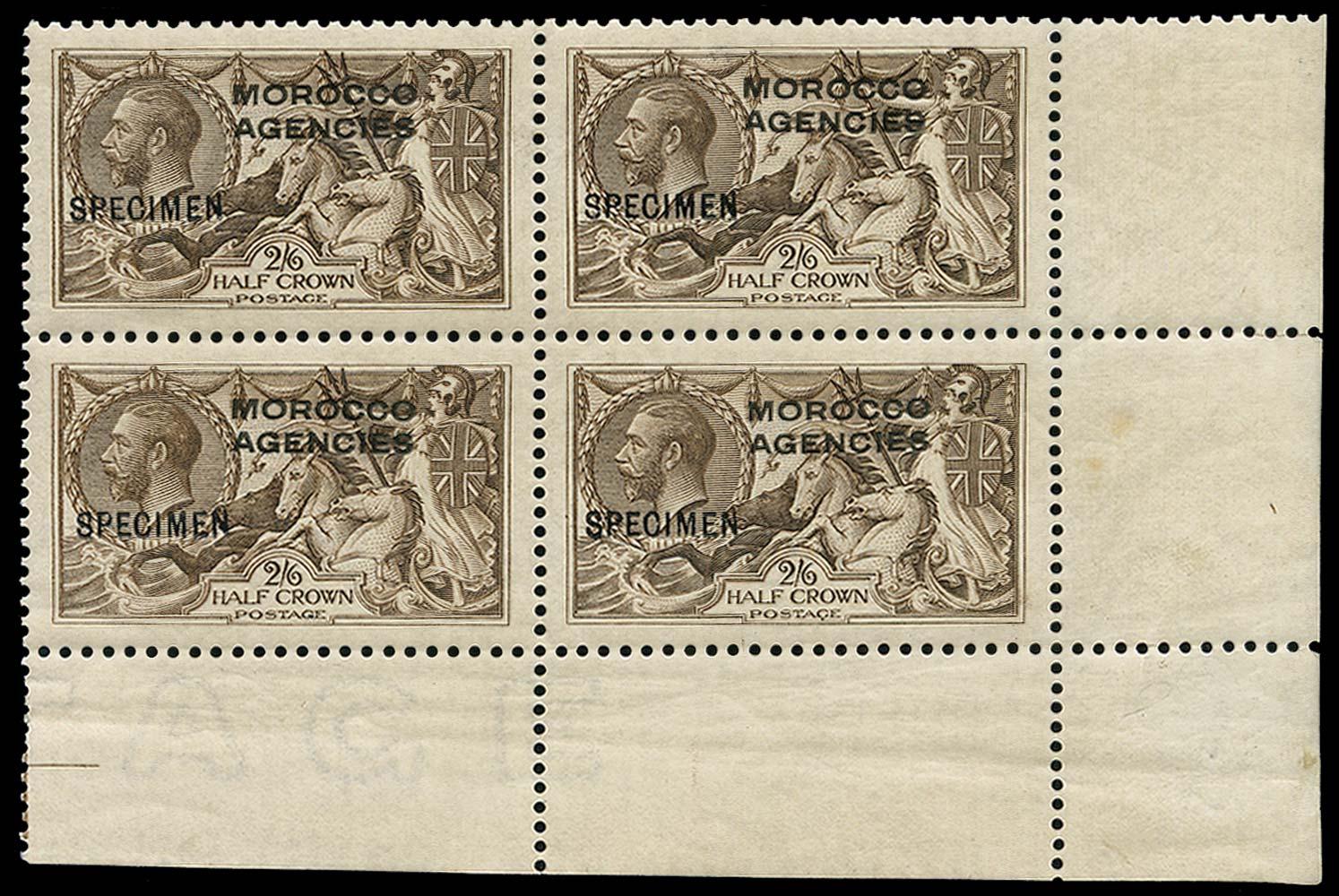 MOROCCO AGENCIES 1914  SG50 Specimen