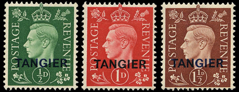 MOROCCO AGENCIES 1937  SG245/47 Mint