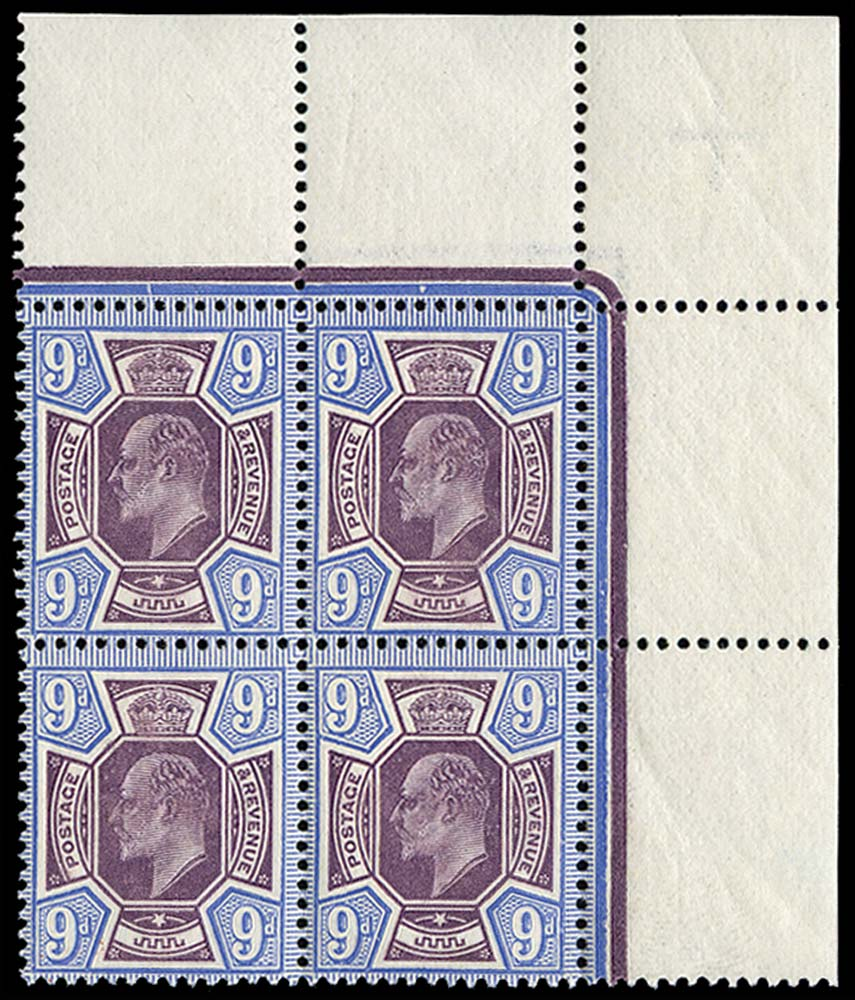 GB 1912  SG308 Mint Unused o.g.
