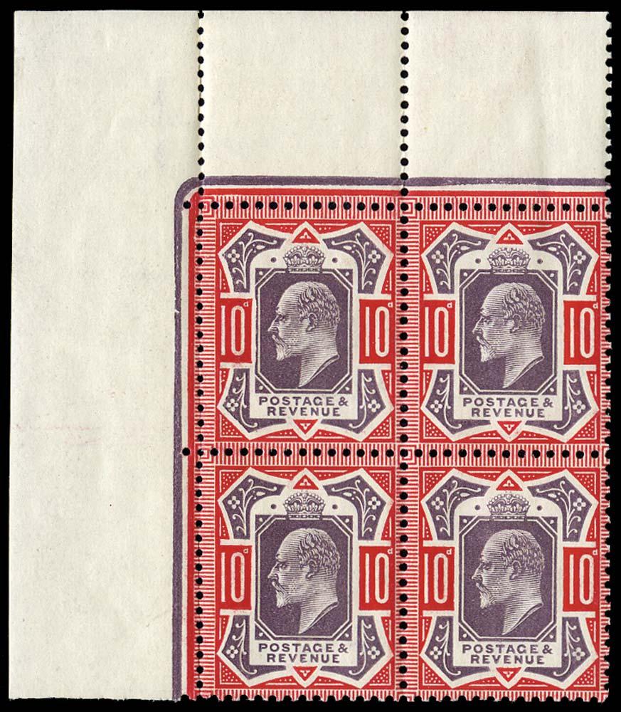 GB 1910  SG256a Mint U/M,
