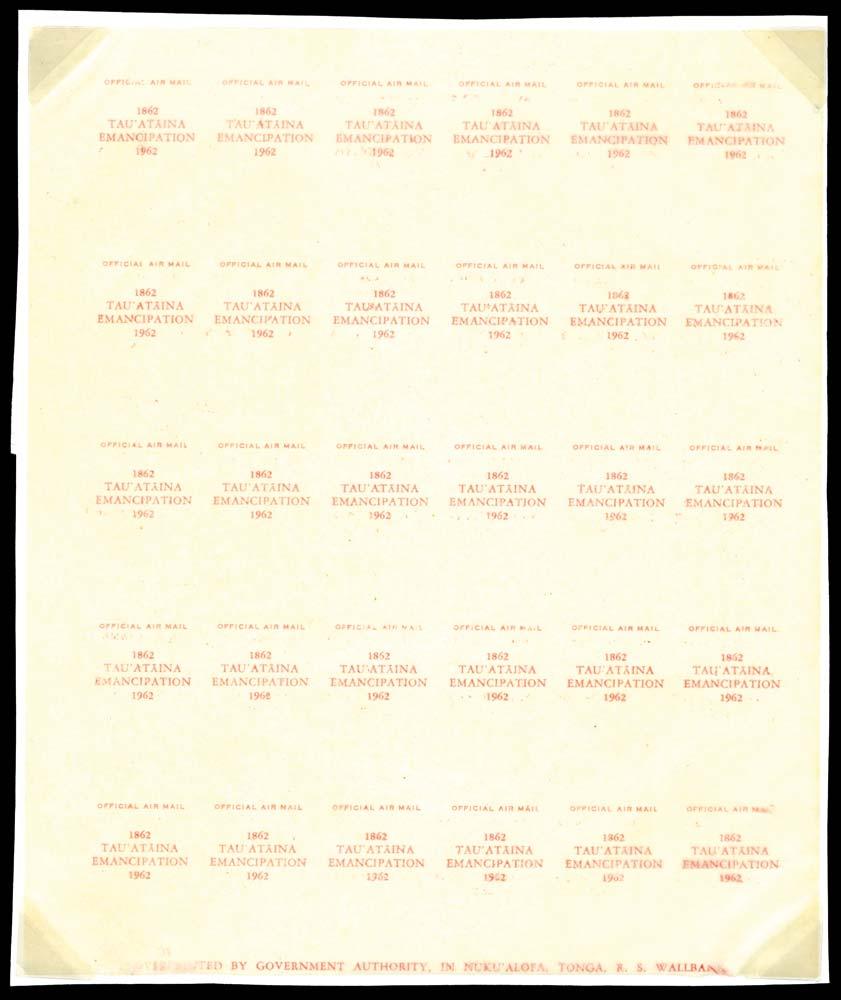 TONGA 1962  SGO15/16 Proof