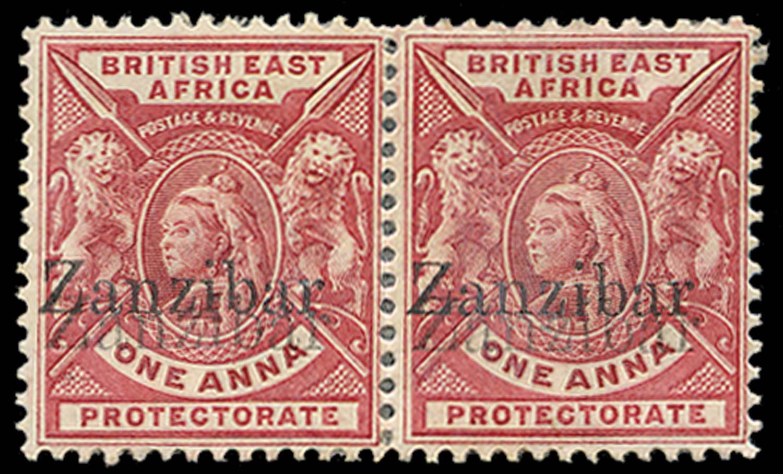 ZANZIBAR 1896  SG42j var Mint