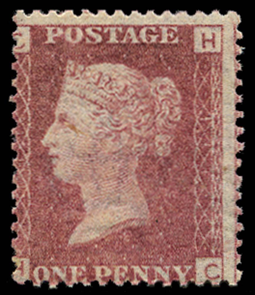 GB 1868  SG43 Pl.111 Mint U/M