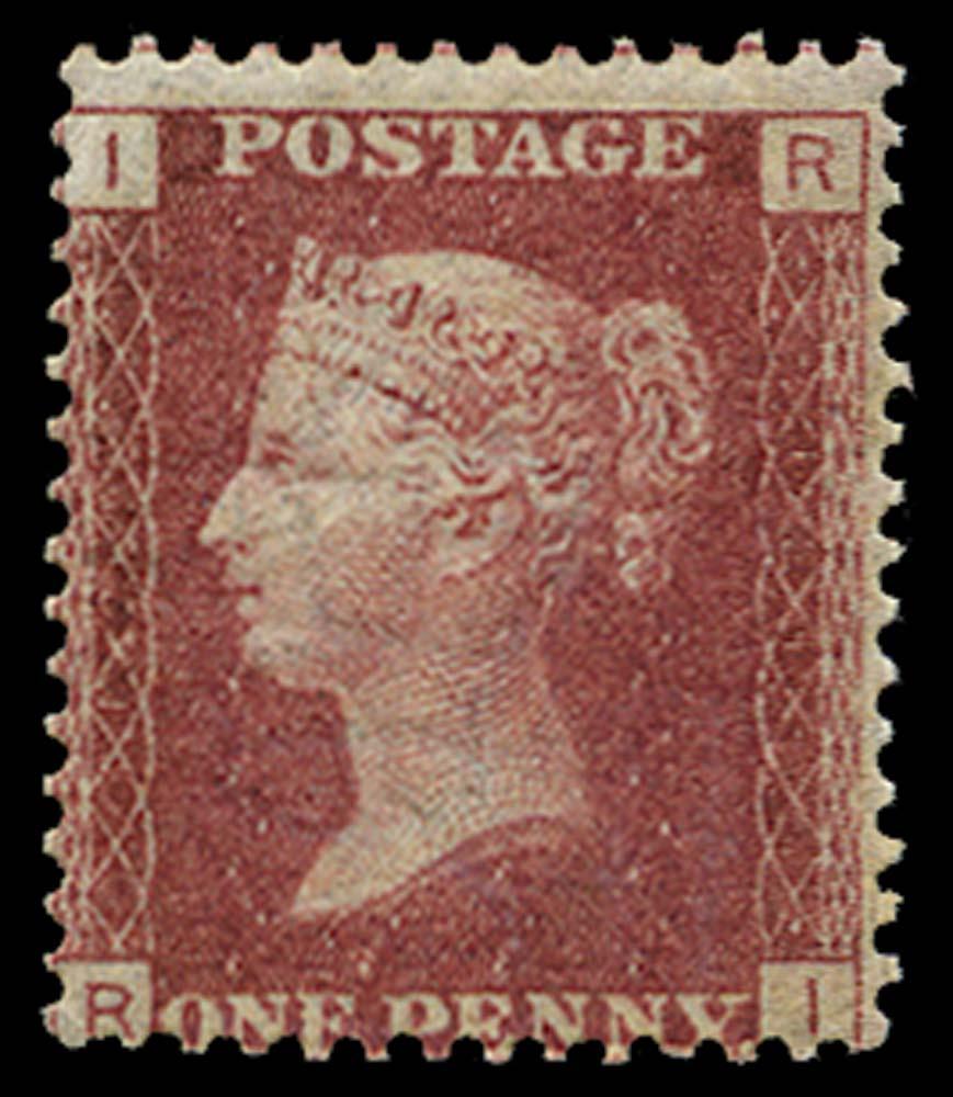 GB 1868  SG43 Pl.121 Mint U/M