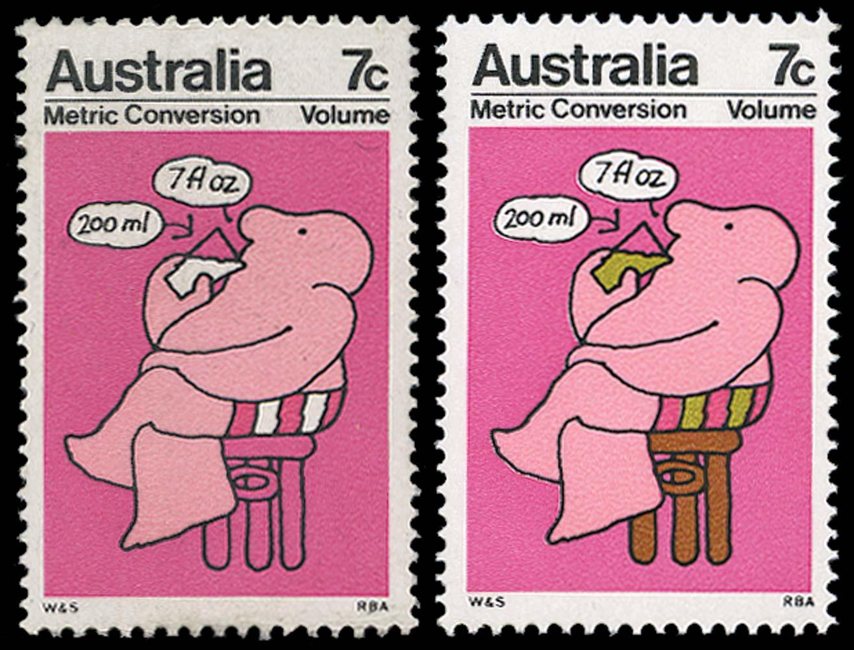 AUSTRALIA 1973  SG533a Mint